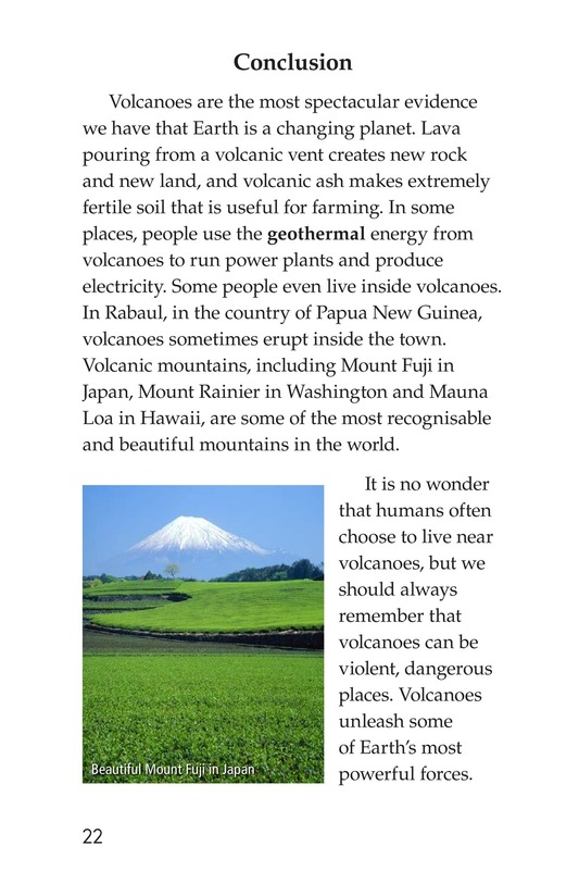 Book Preview For Volcanoes Page 22
