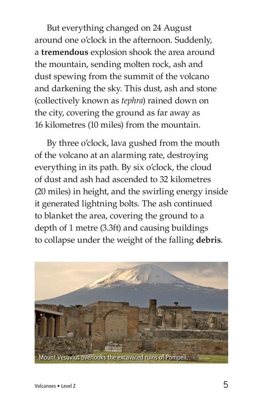 Book Preview For Volcanoes Page 5
