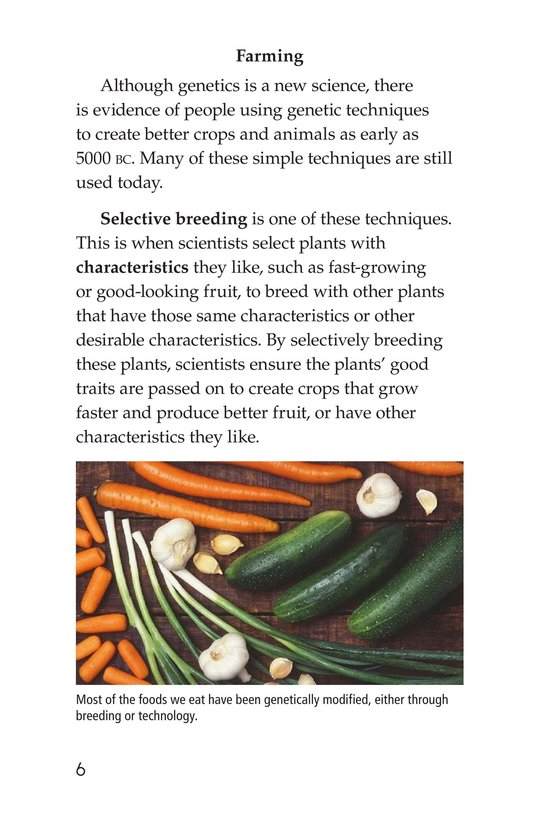 Book Preview For Genetics at Work Page 6