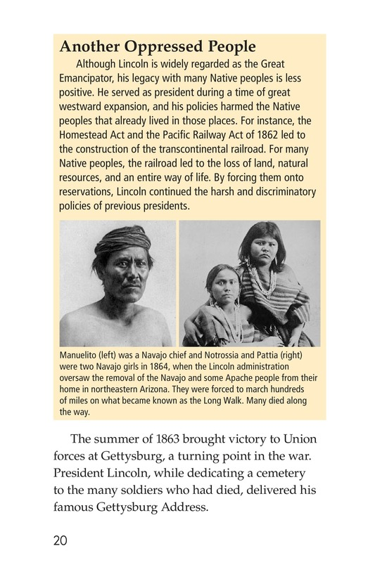 Book Preview For Abraham Lincoln: From Log Cabin to the White House Page 20