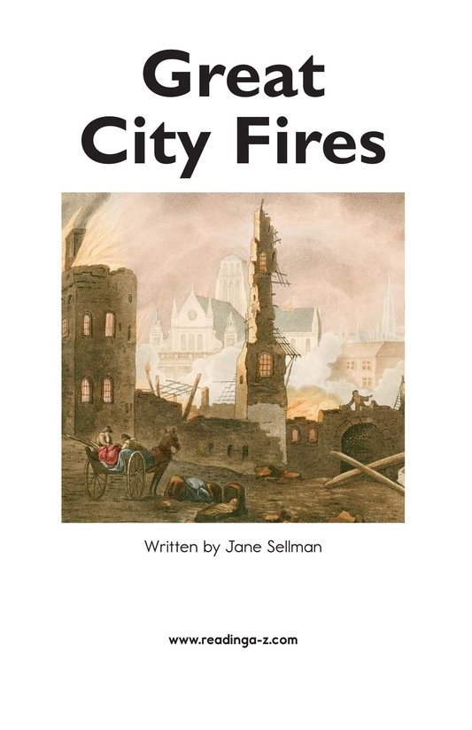 Book Preview For Great City Fires Page 2