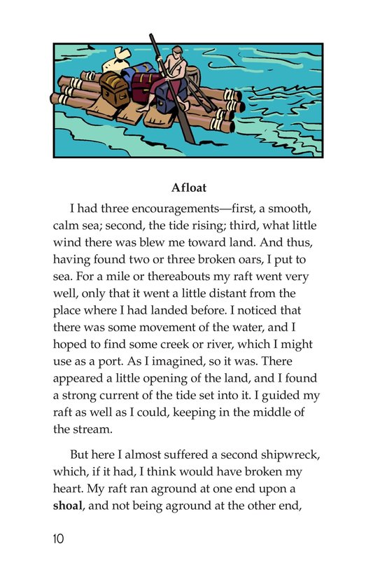 Book Preview For A Selection From Robinson Crusoe Page 10