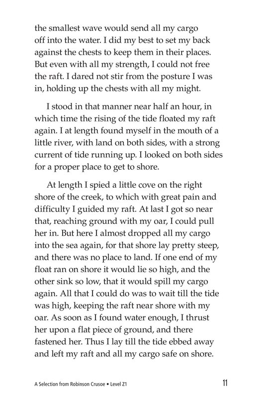 Book Preview For A Selection From Robinson Crusoe Page 11