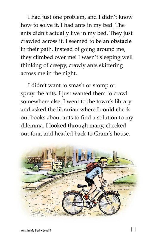 Book Preview For Ants in My Bed Page 11
