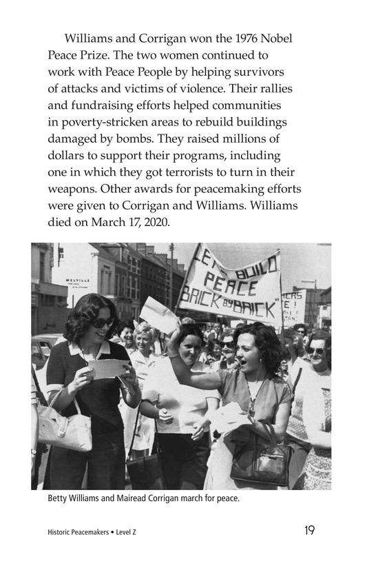 Book Preview For Historic Peacemakers Page 19
