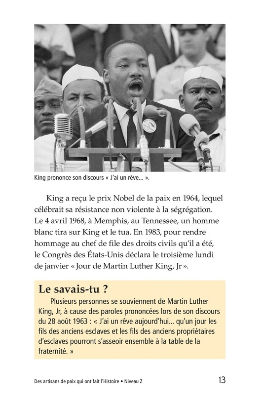 Book Preview For Historic Peacemakers Page 13