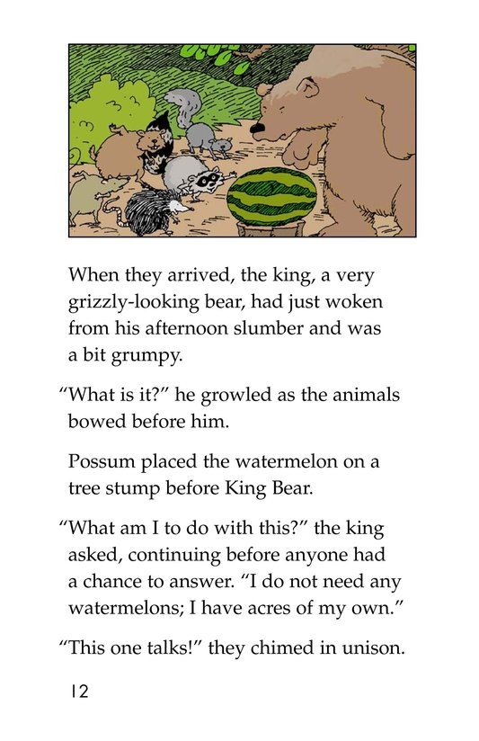 Book Preview For Anansi and the Talking Watermelon Page 12