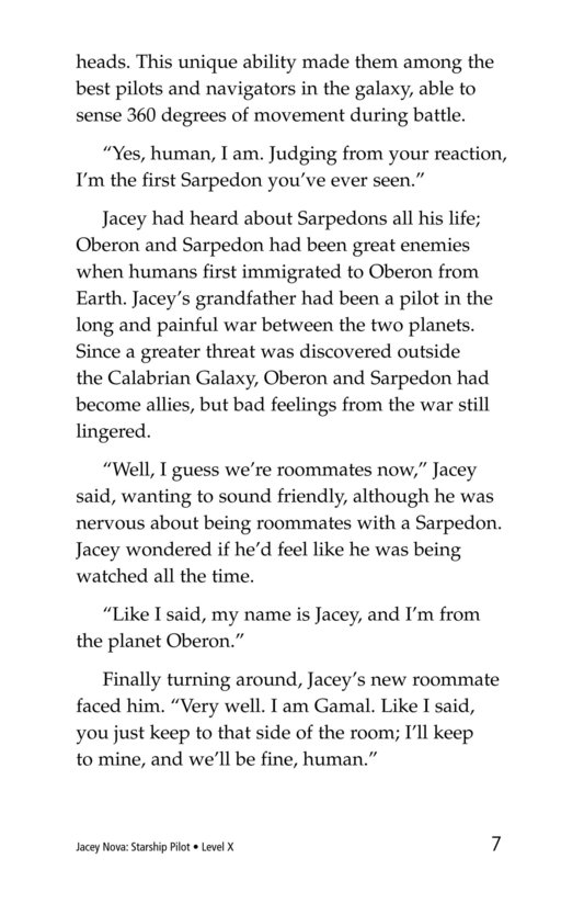 Book Preview For Jacey Nova: Starship Pilot Page 7