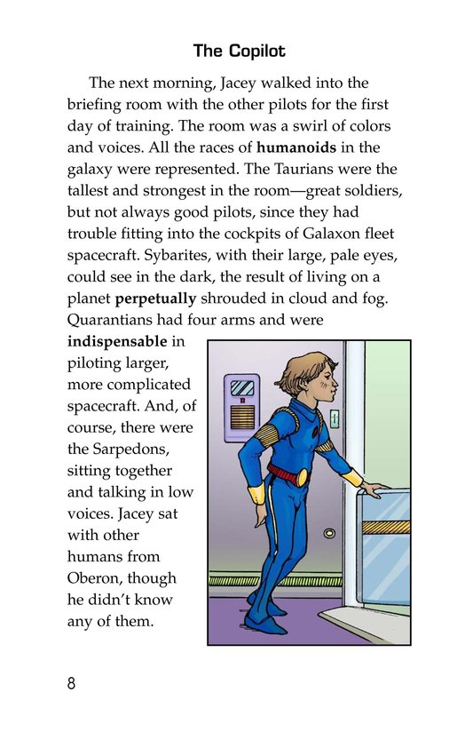 Book Preview For Jacey Nova: Starship Pilot Page 8