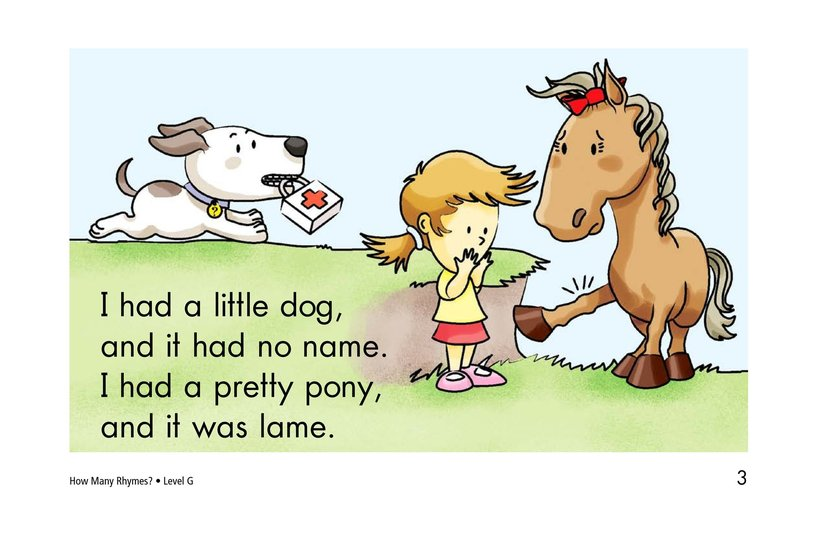 Book Preview For How Many Rhymes? Page 3