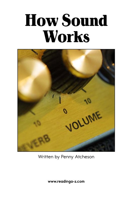 Book Preview For How Sound Works Page 2