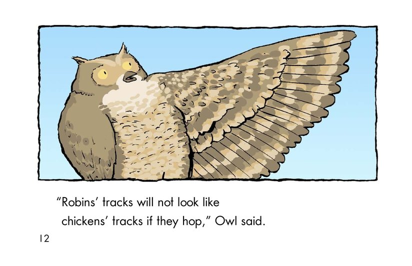 Book Preview For Why Robins Hop Page 12