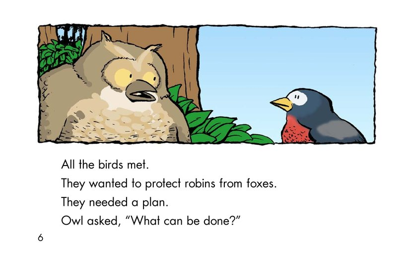 Book Preview For Why Robins Hop Page 6