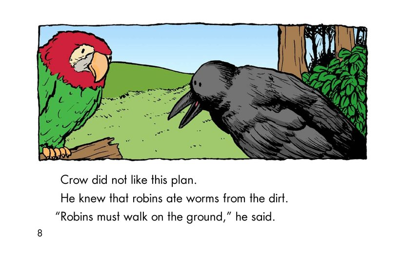 Book Preview For Why Robins Hop Page 8
