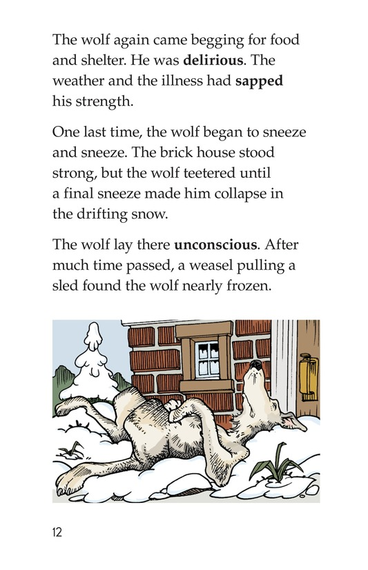 Book Preview For Three Little Pigs: The Wolf's Story Page 12