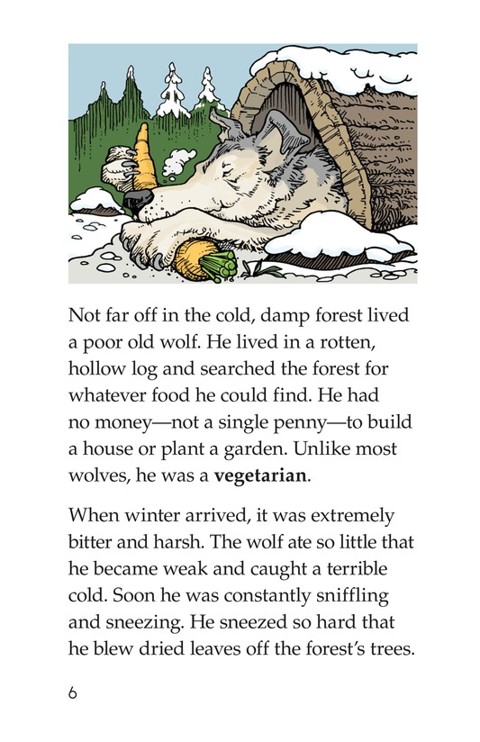 Book Preview For Three Little Pigs: The Wolf's Story Page 6