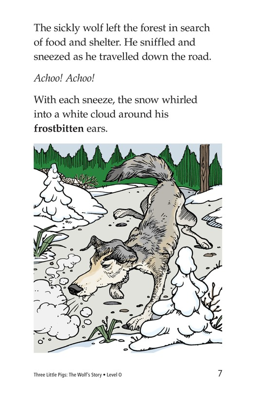 Book Preview For Three Little Pigs: The Wolf's Story Page 7