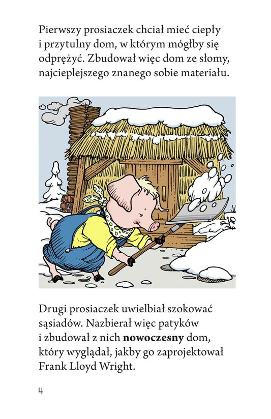 Book Preview For Three Little Pigs: The Wolf's Story Page 4