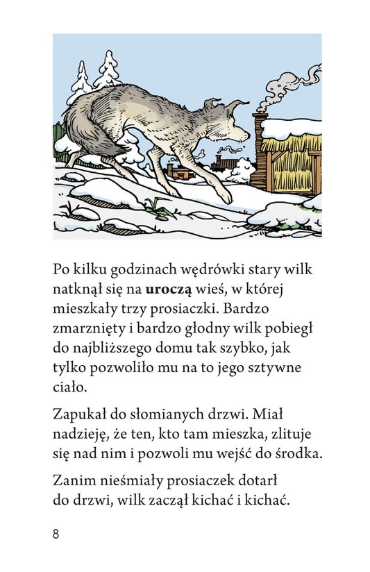 Book Preview For Three Little Pigs: The Wolf's Story Page 8