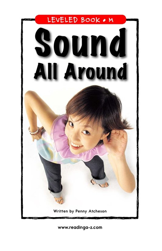 Book Preview For Sound All Around Page 1