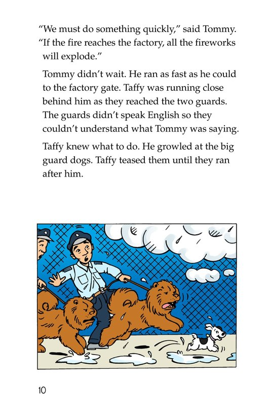 Book Preview For Tommy Saves the Fourth of July Page 10