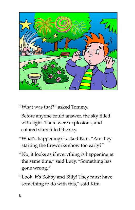 Book Preview For Tommy Saves the Fourth of July Page 4