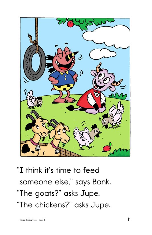 Book Preview For Farm Friends Page 11