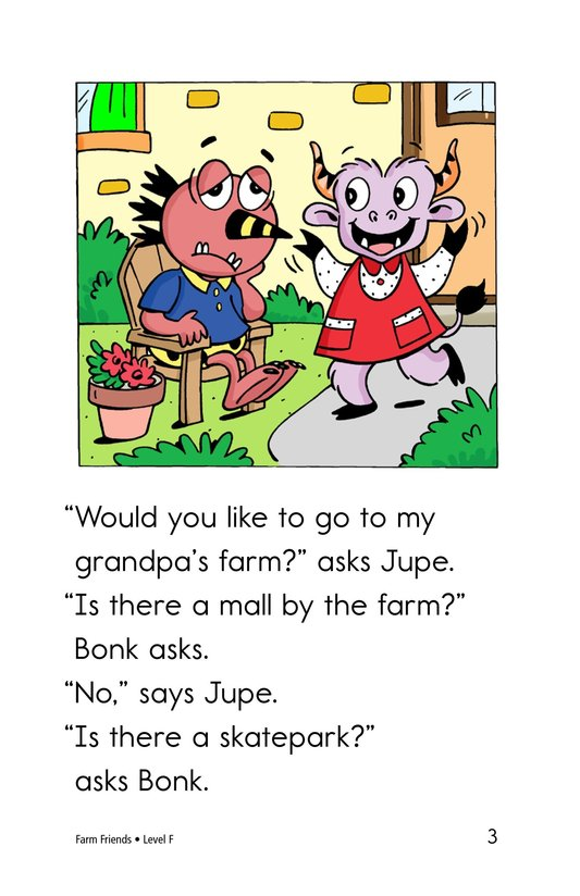 Book Preview For Farm Friends Page 3