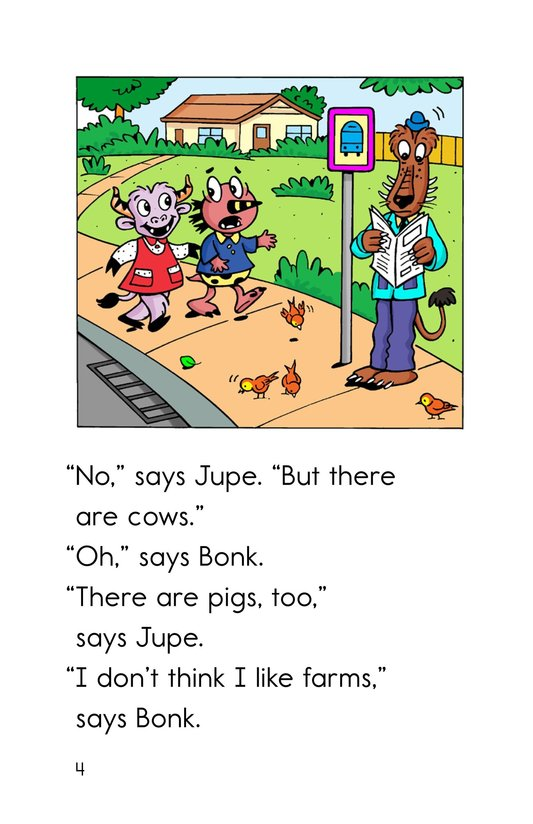 Book Preview For Farm Friends Page 4