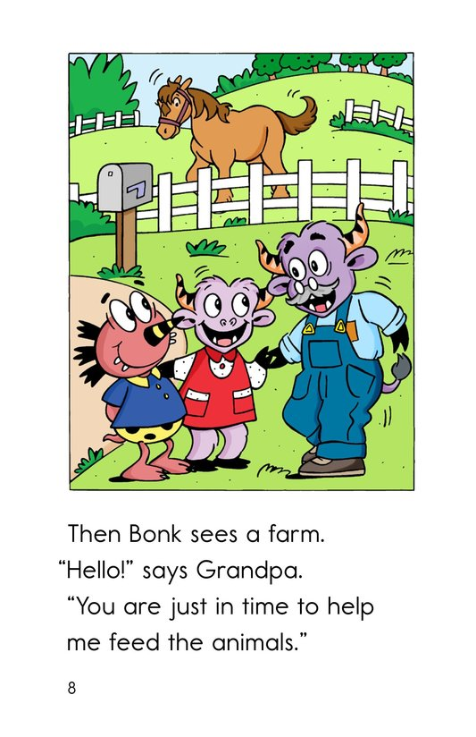 Book Preview For Farm Friends Page 8