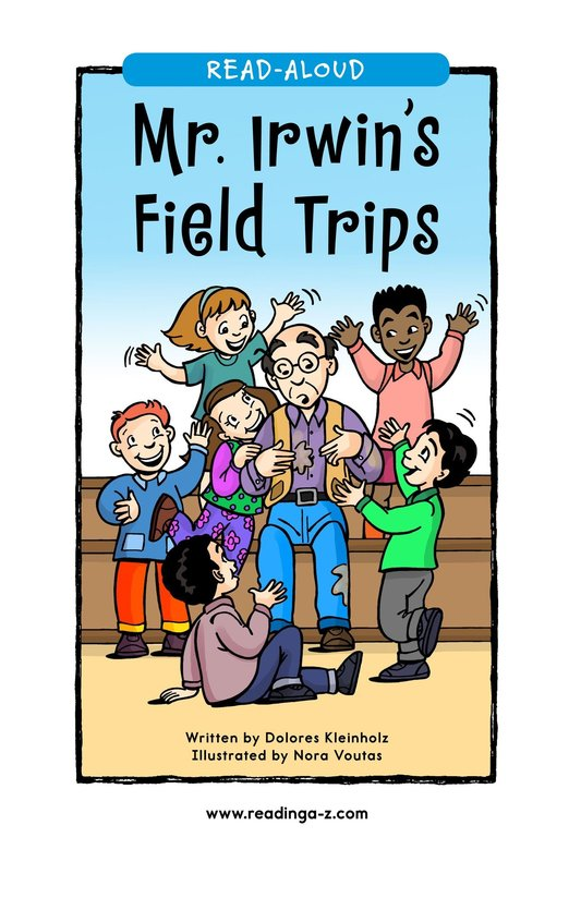 Book Preview For Mr. Irwin's Field Trips Page 1