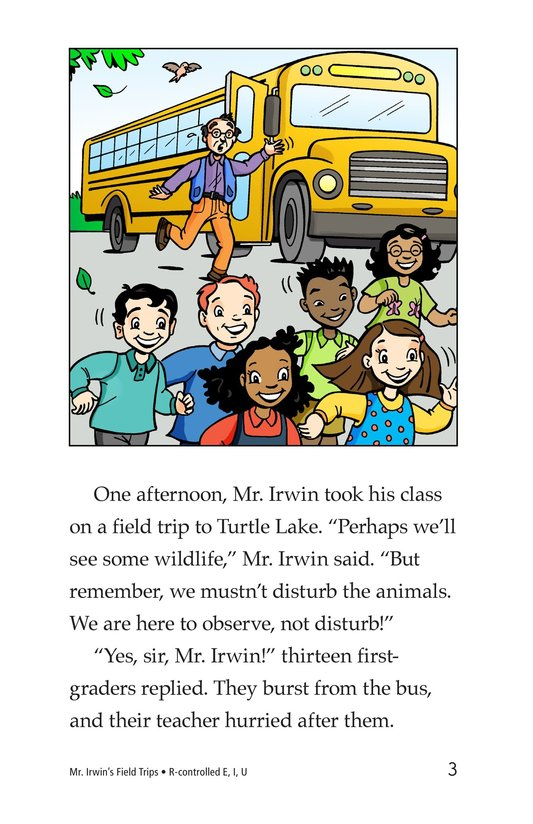 Book Preview For Mr. Irwin's Field Trips Page 3