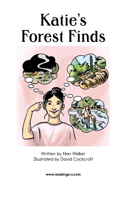 Book Preview For Katie's Forest Finds Page 2