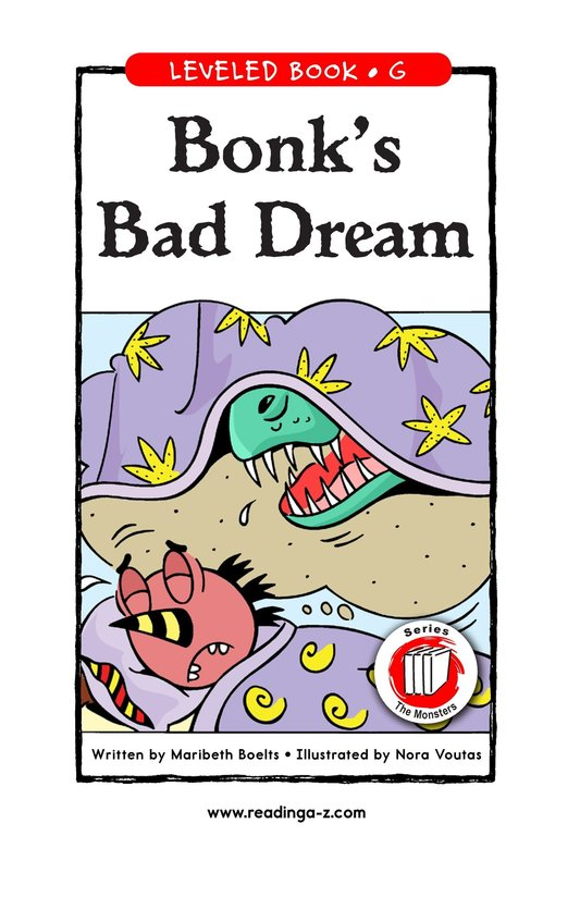 Book Preview For Bonk's Bad Dream Page 1