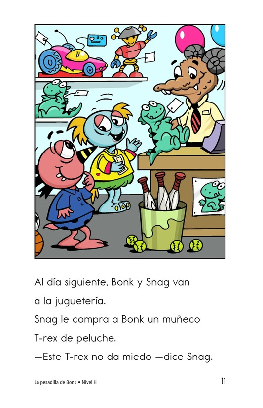 Book Preview For Bonk's Bad Dream Page 11