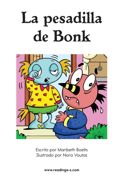 Book Preview For Bonk's Bad Dream Page 2