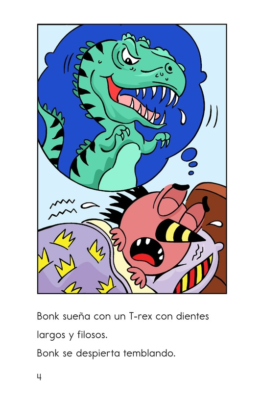 Book Preview For Bonk's Bad Dream Page 4