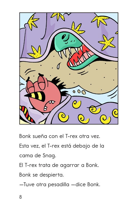 Book Preview For Bonk's Bad Dream Page 8