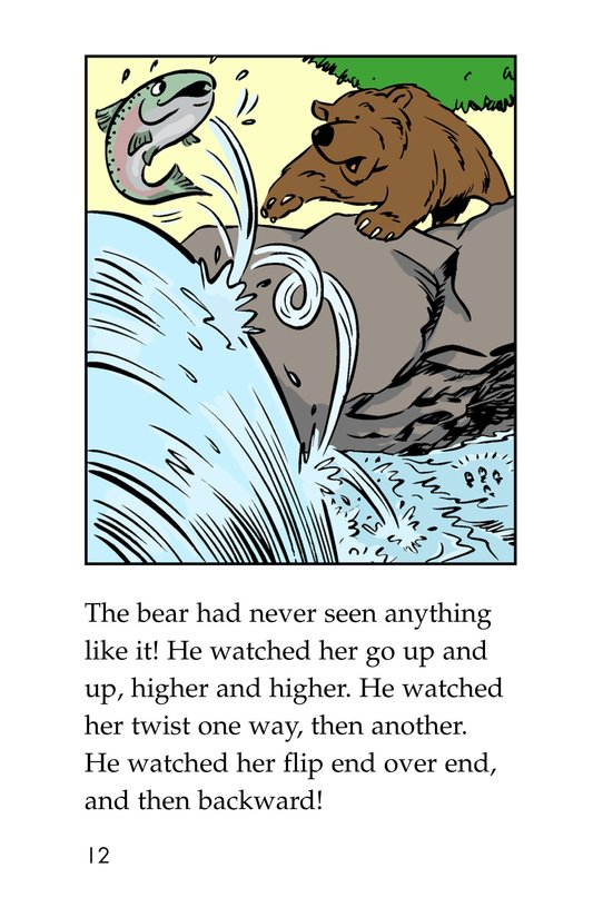 Book Preview For Leap! A Salmon's Story Page 12