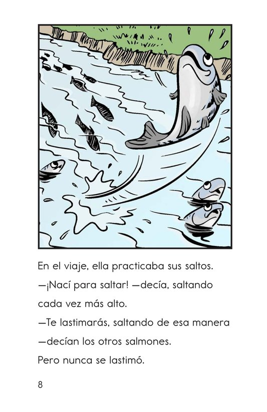 Book Preview For Leap! A Salmon's Story Page 8