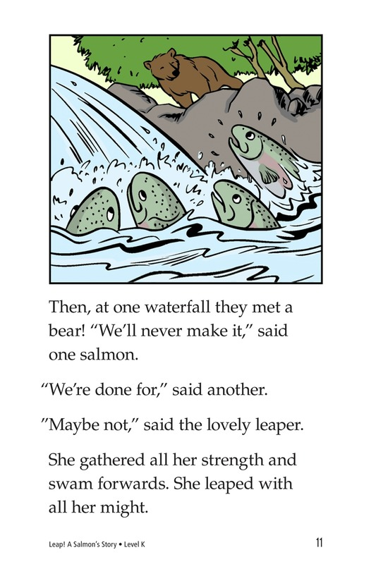 Book Preview For Leap! A Salmon's Story Page 11