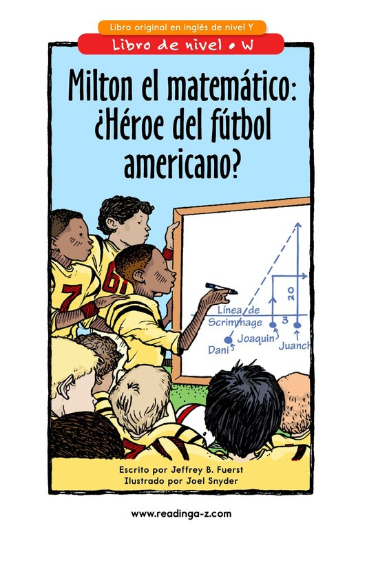 Book Preview For Miltie Math-head: Football Hero? Page 1