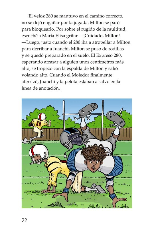 Book Preview For Miltie Math-head: Football Hero? Page 22