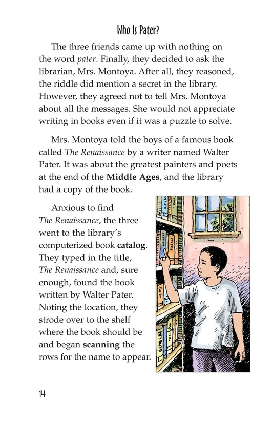 Book Preview For The Mystery of Granville Library Page 14