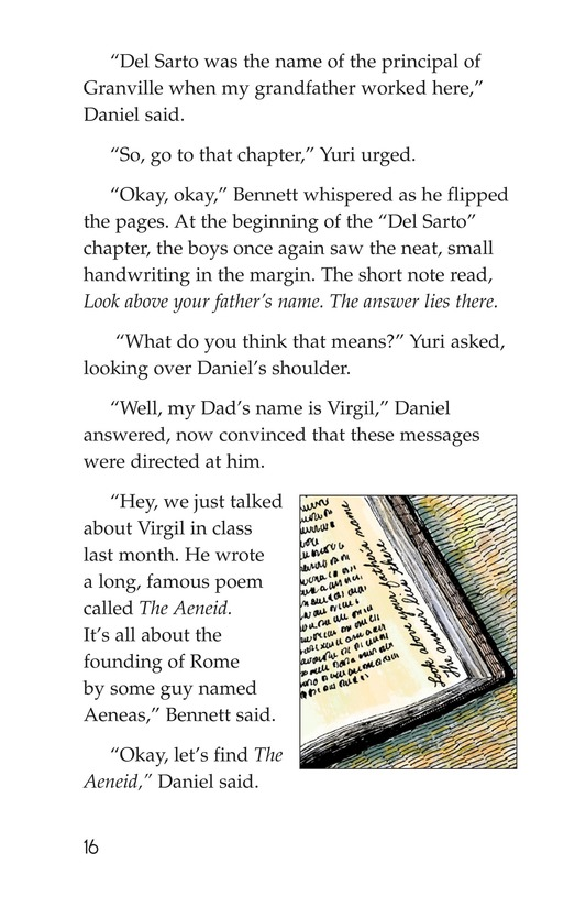 Book Preview For The Mystery of Granville Library Page 16