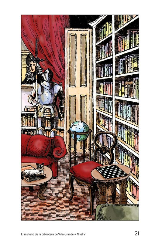 Book Preview For The Mystery of Granville Library Page 21
