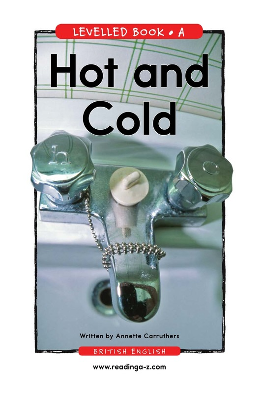 Book Preview For Hot and Cold Page 1