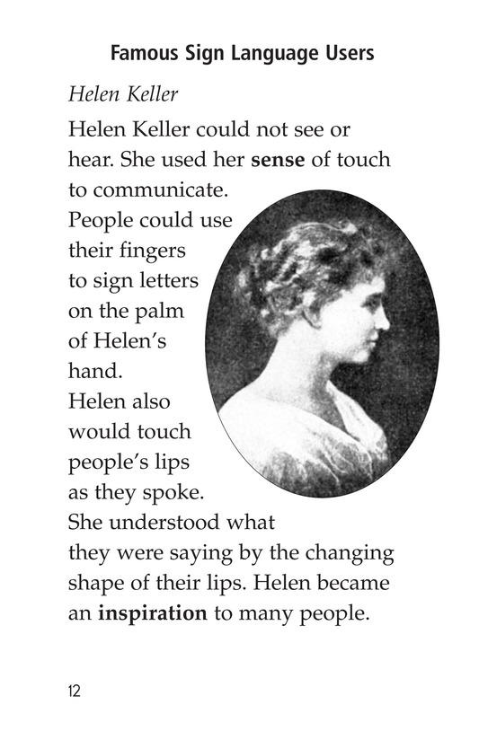 Book Preview For Sign Language and Hand Talk Page 12