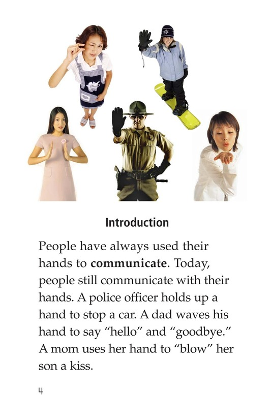 Book Preview For Sign Language and Hand Talk Page 4