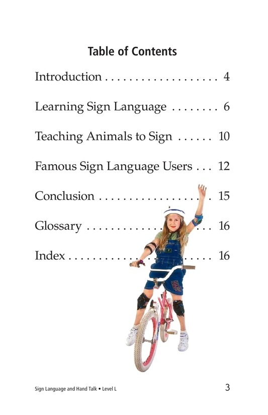 Book Preview For Sign Language and Hand Talk Page 3